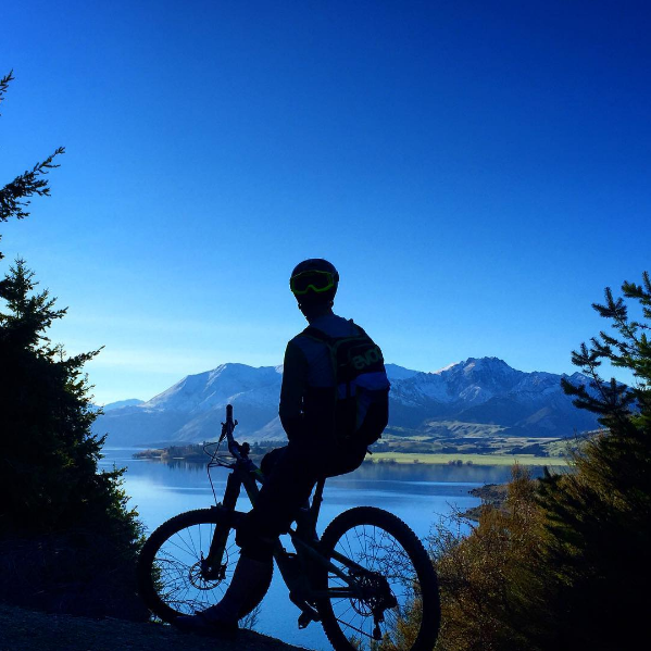 Mountain Biking in Wanaka - the views