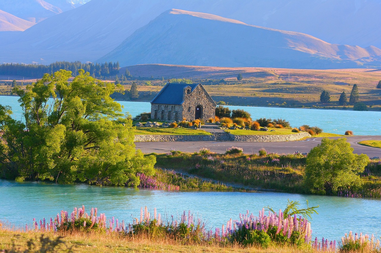Image result for lake tekapo new zealand