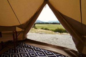 Glamping in South Island